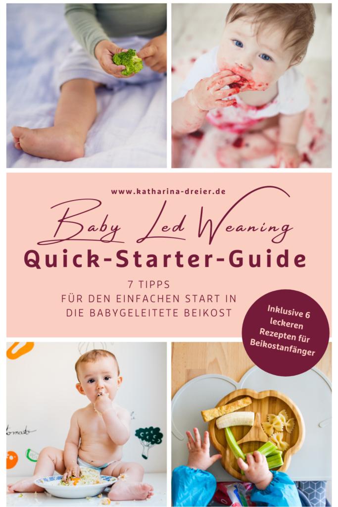 Wie anfangen mit Baby Led Weaning
