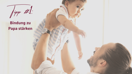 Baby schläft nur bei Mama ein - So klappt es auch bei Papa